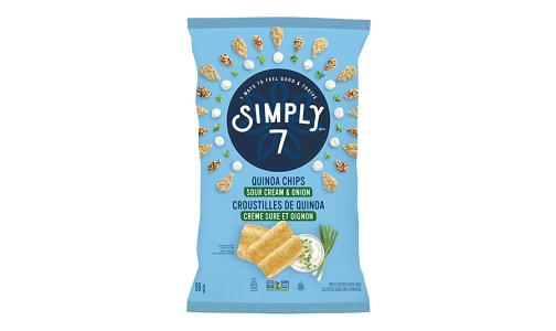 Quinoa Chips - Sour Cream & Onion- Code#: SN4374