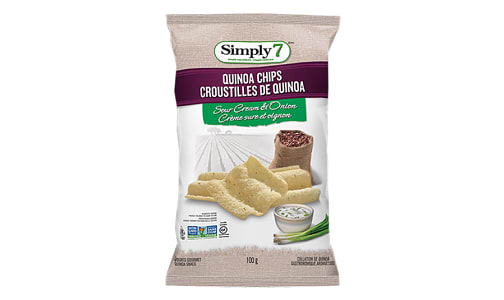 Quinoa Chips - Sour Cream & Onion- Code#: SN4374