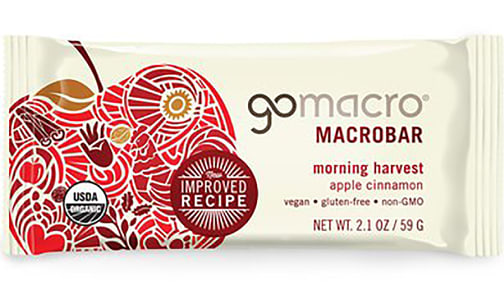 Organic Apples & Cinnamon Bar- Code#: SN4378