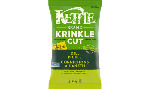 Dill Pickle Krinkle Cut Chips- Code#: SN451