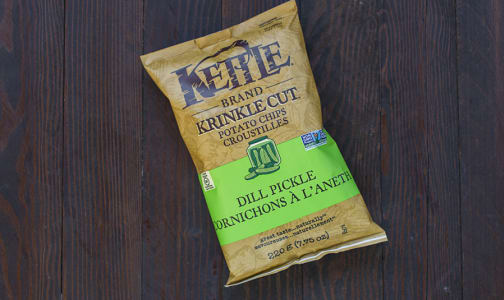 Krinkle Cut Dill Pickle Chips- Code#: SN451