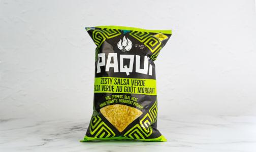 Zesty Salsa Verde Tortilla Chips- Code#: SN5150