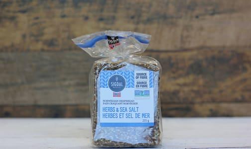 Herbs & Sea Salt Crispbread- Code#: SN546