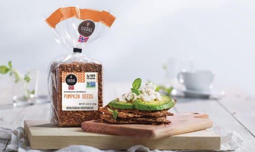 Spelt & Pumpkin Seed Crispbread- Code#: SN548