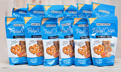 Original Pretzel Crisps - CASE- Code#: SN560-CS