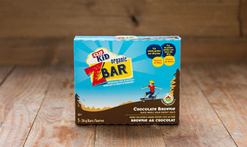 Organic Zbar Chocolate Brownie Bar- Code#: SN597