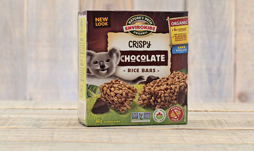 Organic Crispy Rice Bar, Koala Chocolate- Code#: SN625