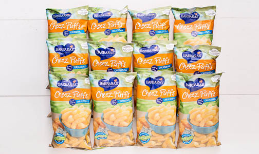 Original Baked Cheese Puffs - CASE- Code#: SN719-CS