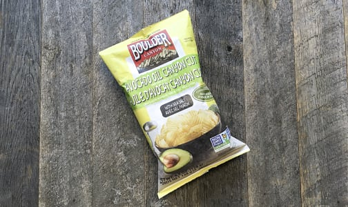 Avocado Oil Sea Salt Kettle Cooked Chips- Code#: SN733