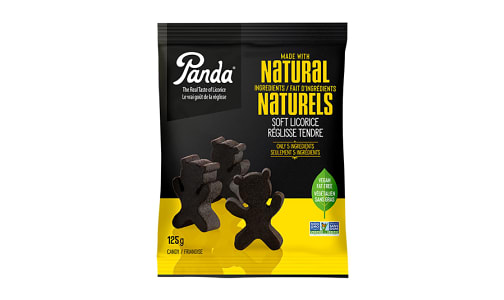 All Natural Soft Licorice Bears- Code#: SN7569