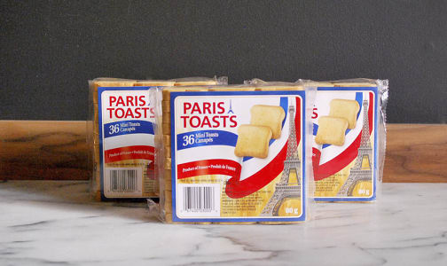 Paris Toasts Mini Toasts- Code#: SN8018