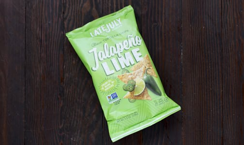 Jalapeno Lime Corn Tortilla Chips- Code#: SN809