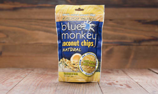 Blue Monkey Coconut Chips - 40g- Code#: SN819