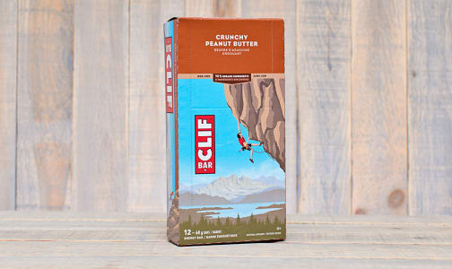 Peanut Butter Energy Bar - CASE- Code#: SN824-CS