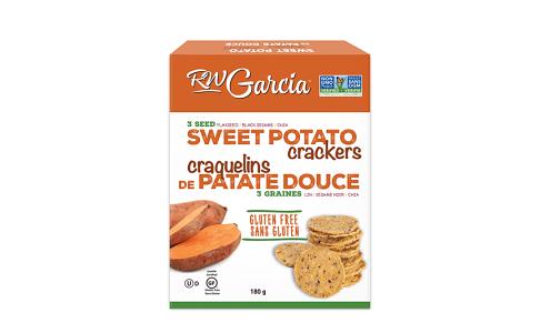 3 Seed Sweet Potato Crackers- Code#: SN8251