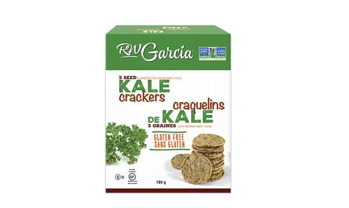 3 Seed Kale Crackers- Code#: SN8252