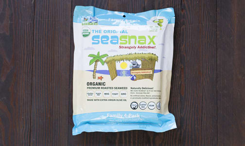 Organic Seaweed Family Pack - Classic- Code#: SN842