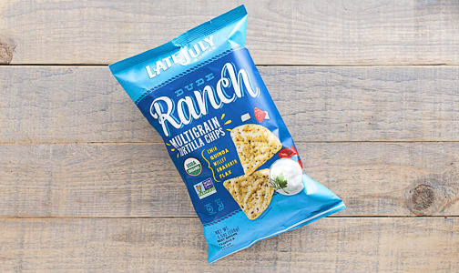 Organic Multigrain Dude Ranch Chips- Code#: SN852