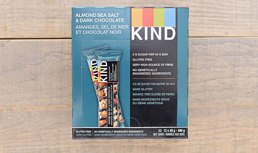Dark Chocolate, Nuts & Sea Salt - CASE- Code#: SN8702-CS