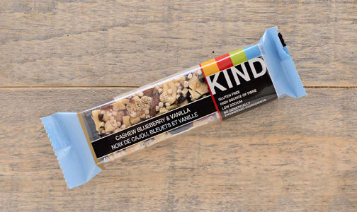 Blueberry Vanilla Cashew Bar- Code#: SN8705