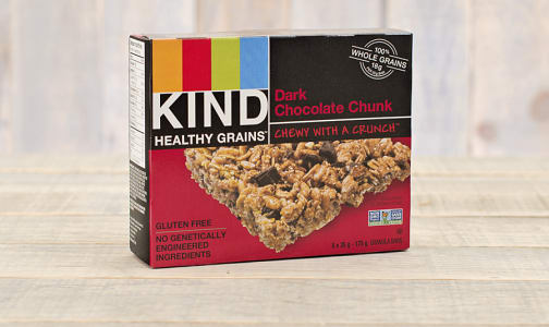 Dark Chocolate Chunk Bars- Code#: SN8706