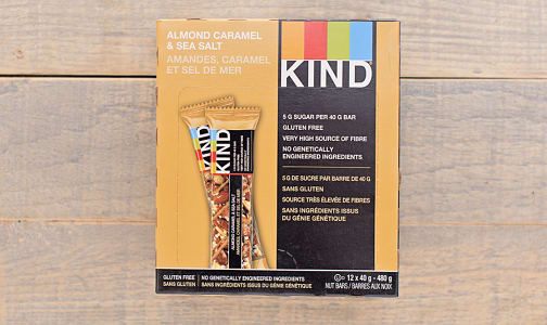Caramel, Almond & Sea Salt Bar - CASE- Code#: SN8710-CS