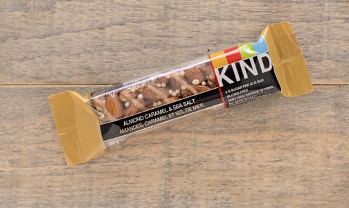 Caramel, Almond & Sea Salt Bar- Code#: SN8710