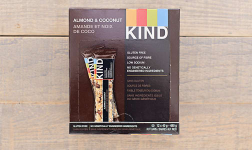 Almond & Coconut Bar - CASE- Code#: SN873-CS