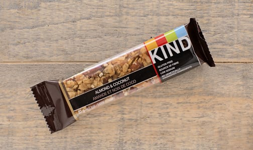 Almond & Coconut Bar- Code#: SN873