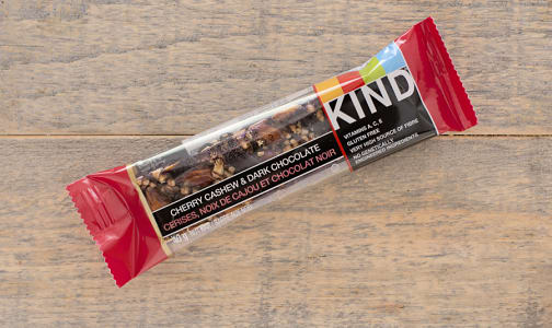 Dark Chocolate Cherry Cashew Bar- Code#: SN878