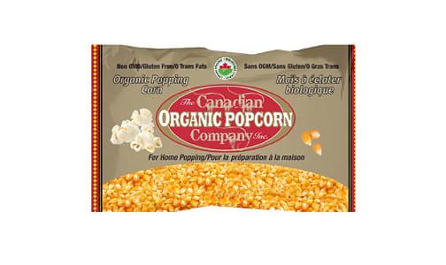 Organic Popping Corn- Code#: SN9130