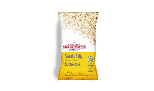 Organic Old Fashioned Sweet & Salty Popcorn- Code#: SN9134