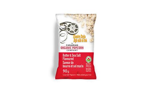 Organic Theatre Style Butter & Sea Salt Popcorn- Code#: SN9136