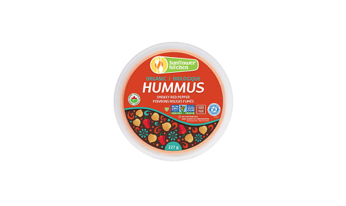 Organic Hummus - Smoked Red Pepper- Code#: SP0026