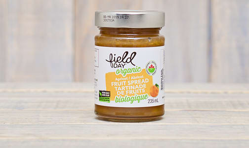 Organic Apricot Fruit Spread- Code#: SP0049