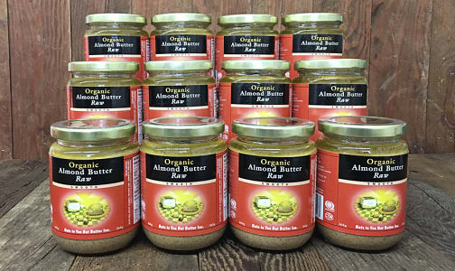Organic Raw Almond Butter - CASE- Code#: SP0050-CS