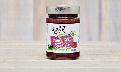 Organic Raspberry Fruit Spread- Code#: SP0065