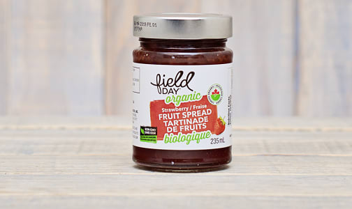 Organic Strawberry Fruit Spread- Code#: SP0066