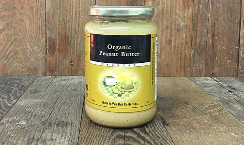 Organic Crunchy Peanut Butter- Code#: SP0068
