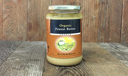 Organic Smooth Peanut Butter- Code#: SP0069