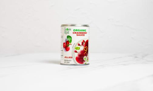 Organic Jellied Cranberry Sauce- Code#: SP0071