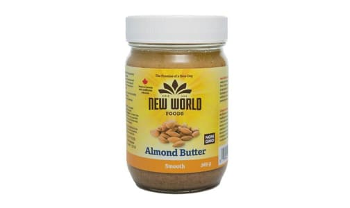 Organic Almond Butter - Smooth, Roasted- Code#: SP0095