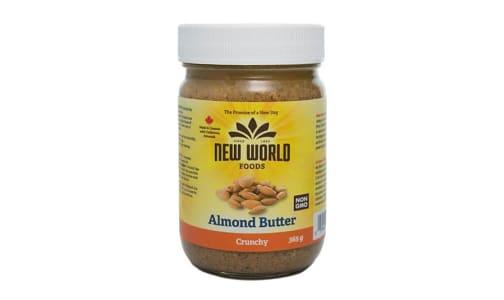 Organic Almond Butter - Crunchy- Code#: SP0096