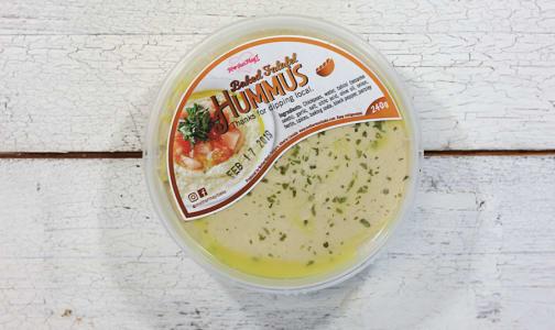 Baked Falafel Hummus- Code#: SP0119