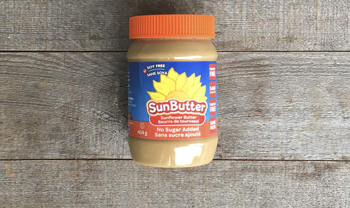 Sunflower Seed Butter - No Sugar Added- Code#: SP0123