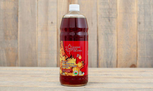 Organic Maple Syrup - #1 Med, Grade A, Amber- Code#: SP0143