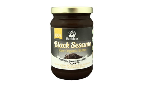 Organic Black Sesame Butter- Code#: SP0185