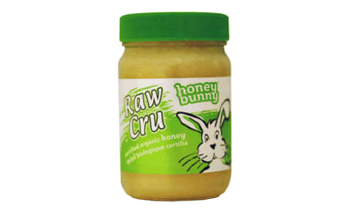 Organic Raw Creamed Honey, Jar- Code#: SP0194