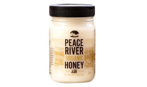 Organic Peace River Creamed Honey, Jar- Code#: SP0195