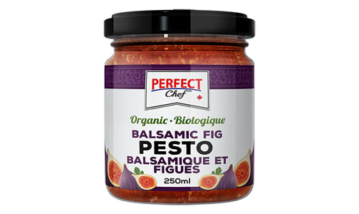 Organic Balsamic Fig Pesto- Code#: SP0213